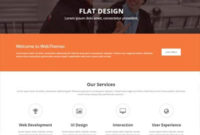 Free Business Website Template Designedwebthemez for Template For Business Website Free Download