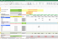 Free Cash Flow Forecasting Template Download In Excel within Best Business Plan Spreadsheet Template Excel