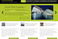 Free Css Website Templates Page 1 Of 261 | Free Css within One Page Business Website Template