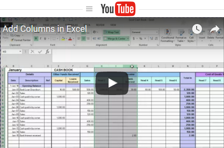 Free Excel Bookkeeping Templates inside Best Template For Small Business Bookkeeping