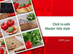 Free Food Powerpoint Templates for Best Food Delivery Business Plan Template