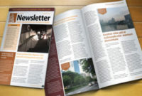 Free Indesign Newsletter Template | Designfreebies intended for Quality Business Plan Template Indesign