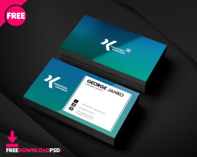 Free Material Design Business Cards Psd | Freedownloadpsd inside Unique Business Card Size Template Photoshop