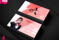 Free Premium Business Card Unique Psd   Freedownloadpsd pertaining to Blank Business Card Template Photoshop