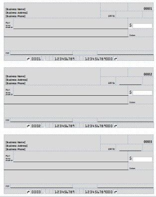 Free Printable Checks Template Beautiful Blank Check pertaining to New Blank Business Check Template