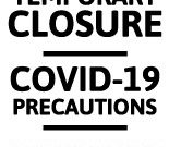 Free Printable Coronavirus Signage | Signs in Business Closed Sign Template