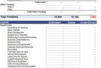 Free Printable Personal Financial Statement   Excel Blank in Best Accounting Firm Business Plan Template