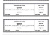Free Printable Raffle Ticket Template – Business Card for Best Word 2013 Business Card Template