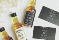Free Printable Wedding Favor – Mini Whiskey Bottle Labels throughout Best Distillery Business Plan Template