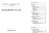Free Project Executive Summary Report Template – Project inside Executive Summary Of A Business Plan Template