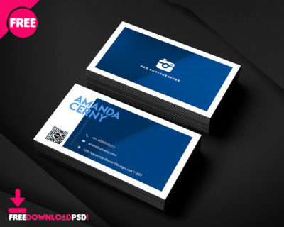 Free Restaurant Business Card Psd | Freedownloadpsd pertaining to Unique Business Card Size Photoshop Template