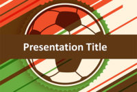Free Soccer Match Powerpoint Template – Download Free with regard to Google Drive Presentation Templates