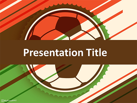 Free Soccer Match Powerpoint Template - Download Free with regard to Google Drive Presentation Templates