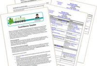 Free Templates | All Things Admin for Travel Agenda Template