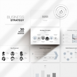 Freepiker | Free Vectors, Powerpoint, Print, Logos And Psd with regard to Unique Business Plan Powerpoint Template Free Download