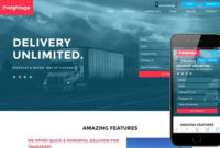 Freightage A Transportation Flat Bootstrap Responsive Web intended for New Bootstrap Templates For Business
