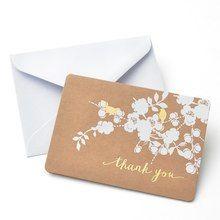 Gartner Studios® Foil Bird On Kraft Thank You Cards In throughout Fresh Gartner Business Cards Template