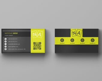 Geometric Business Card Template And Letterhead Design Custom for Unique Business Card Template Powerpoint Free