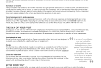 Get Interview Schedule Template Qualitative Research within Interview Agenda Template