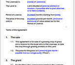 Grazing Agreement For Horses Or Livestock | Grazing Licence pertaining to Fresh Free Agriculture Business Plan Template