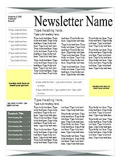 Green-Gray-4-Page-Newsletter - Word Templates For Free regarding Business Reply Mail Template