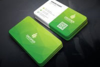 Green Modern Business Card – Graphic Templates, #Business with regard to Create Business Card Template Photoshop