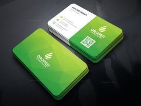 Green Modern Business Card - Graphic Templates, #Business with regard to Create Business Card Template Photoshop