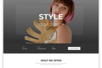 Hair Salon Website Template #36820 within Small Business Website Templates Free