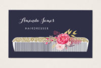 Hairdresser Business Cards & Templates | Zazzle regarding New Hairdresser Business Card Templates Free