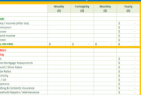Home Budget Workbook – My Excel Templates for Quality Free Small Business Budget Template Excel