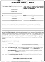 Home Improvement Contract - Free Printable Documents regarding Fresh Business Improvement Proposal Template