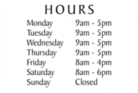 Hours Of Operation Signs, Yes We'Re Open Sign | 50% Off With Regard To Printable Business Hours Sign Template