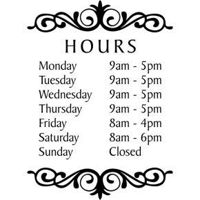 Hours Of Operation Signs, Yes We'Re Open Sign   50% Off With Regard To Printable Business Hours Sign Template