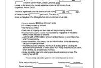 House Lease Agreement Template   Lease Agreement Template pertaining to Business Lease Proposal Template