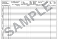 Household Goods Descriptive Inventory Form – Fill Online Intended For Quality Business Process Inventory Template