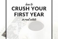 How To Crush Your First Year In Real Estate | Real Estate with regard to Listing Presentation Template