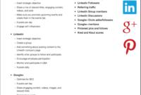 How To Design A Social Media Campaign | Social Marketing pertaining to Social Media Marketing Business Plan Template