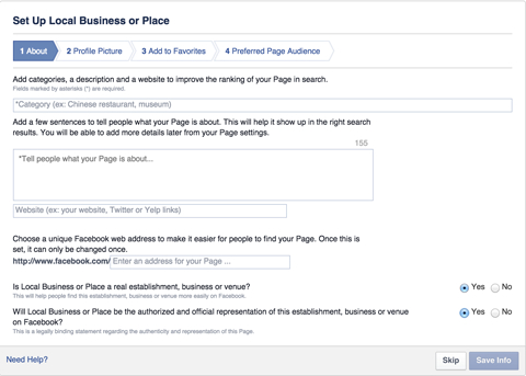 How To Set Up A Facebook Page For Business : Social Media within Facebook Templates For Business