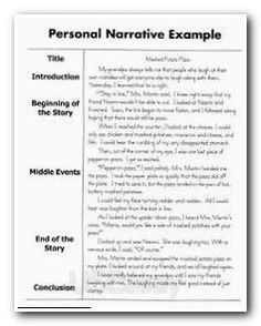 How To Write A Personal Narrative Essay For 4Th 5Th Grade with regard to Business Process Narrative Template