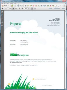 How To Write Your Own Lawn Care And Landscaping Services within Fresh Lawn Care Business Plan Template Free