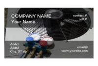 Hvac Business Cards & Templates | Zazzle in Hvac Business Card Template