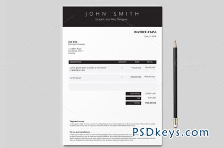 Indesign Invoice Template Free | Apcc2017 throughout Business Proposal Template Indesign
