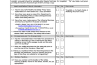 Induction Checklist Template – Fill Online, Printable with regard to New Health And Safety Policy Template For Small Business