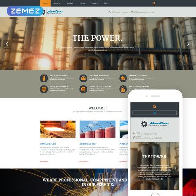 Industrial Templates for Fresh Small Business Website Templates Free