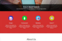 Industry Responsive Bootstrap Html Website Template intended for Bootstrap Templates For Business
