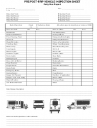 Inspection Form Templates Pdf. Download Fill And Print For intended for Business Trip Report Template Pdf