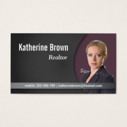 Insurance Agent Business Cards & Templates | Zazzle in Business Plan Template For Real Estate Agents
