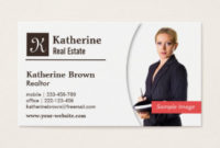 Insurance Business Cards, 1900+ Insurance Business Card for New Real Estate Agent Business Plan Template
