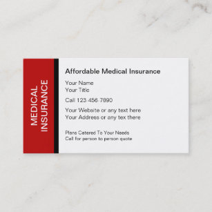 Insurance Business Cards, 1900+ Insurance Business Card in Medical Business Cards Templates Free