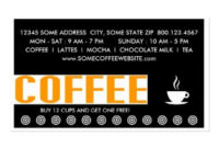 Invent Me   Operation Business Cards within Coffee Business Card Template Free